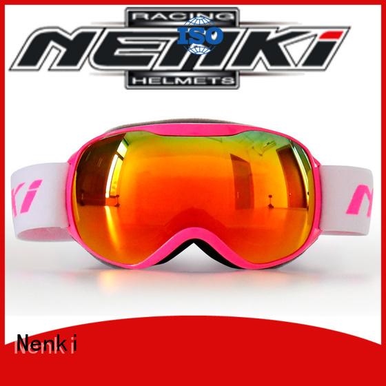 Nenki Brand Flexible Top rated ski goggles online manufacture