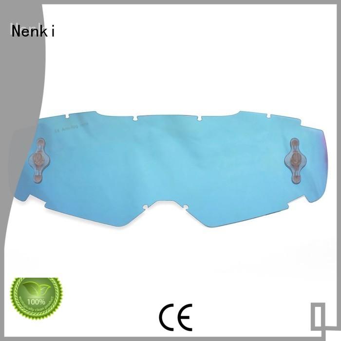 Quality Nenki Brand approved tear off lens