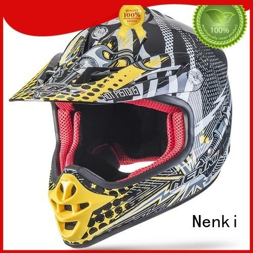 Wholesale Comfortable motocross helmets for sale Nenki Brand