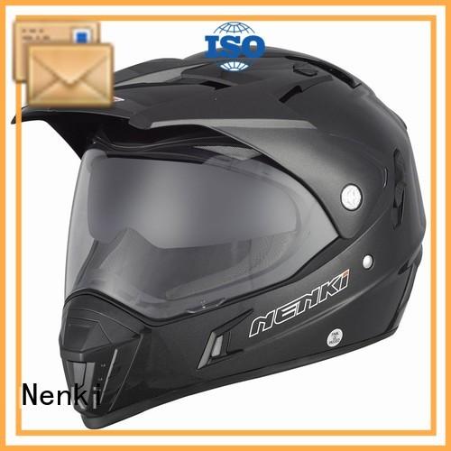 Adult Protective safe top motorcycle helmet brands Top rated Nenki Brand