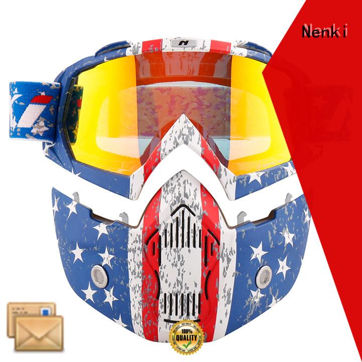 Wholesale stylish best open face motorcycle helmet Nenki Brand