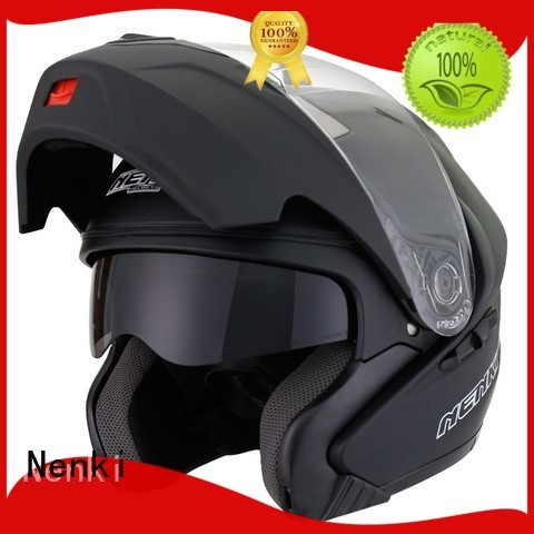 certified wholesale cheap Hot selling Nenki Brand flip motorcycle helmet supplier