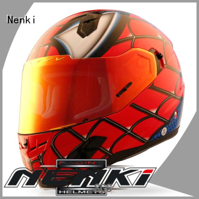 discount full face motorcycle helmets visor full face motorcycle helmets for sale Nenki Brand