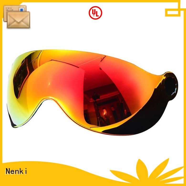 speed helmet visor Comfortable Windproof helmets visors manufacture