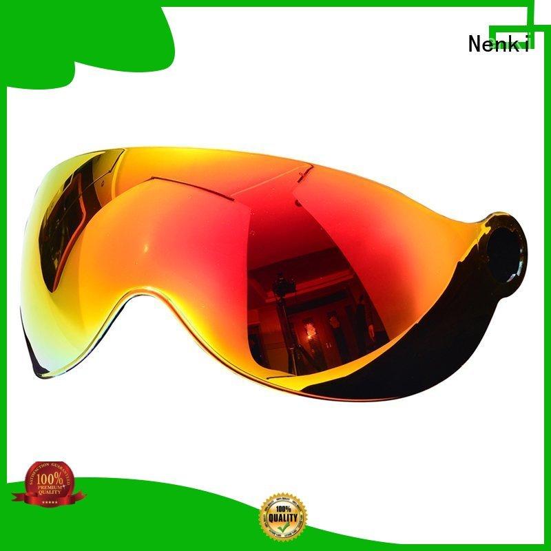 Adjustable cheap dustproof speed helmet visor Nenki manufacture