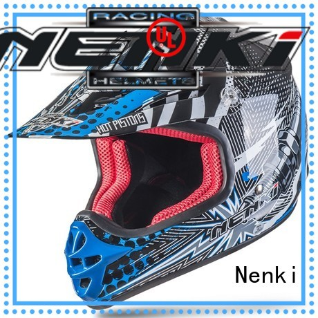 cheap motocross helmets for sale Multi Color High quality Nenki company